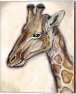 Giraffe Portrait Fine-Art Print