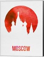 Moscow Landmark Red Fine-Art Print
