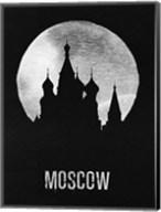 Moscow Landmark Black Fine-Art Print