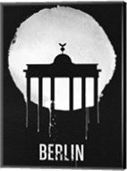 Berlin Landmark Black Fine-Art Print