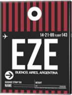 EZE Buenos Aires Luggage Tag II Fine-Art Print