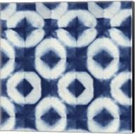 Blue Shibori III Fine-Art Print