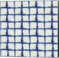 Blue Shibori IV Fine-Art Print