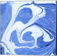 Blue Marble Quad II Fine-Art Print