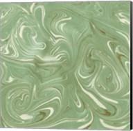 Turquoise Marble V Fine-Art Print