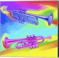 Pop Art Trumpets Fine-Art Print