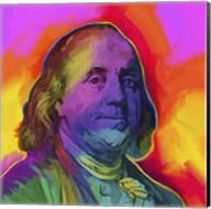 Ben Franklin Pop Art Fine-Art Print