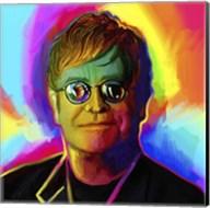 Elton John Pop Art Fine-Art Print