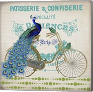 Peacock On Bicylce - E Fine-Art Print