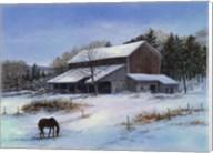 In a Winter Blue Fine-Art Print