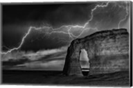 BW Lightning at MR Fine-Art Print