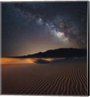 Milky Way over Mesquite Dunes Fine-Art Print