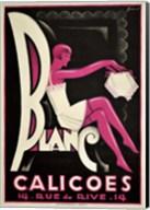 Blanc Calicoes Fine-Art Print