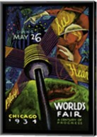 Chicago World's Fair 1934 Fine-Art Print