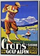 Crans Golf Alpin Fine-Art Print