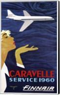 Caravelle Service 1960 Finnair Fine-Art Print