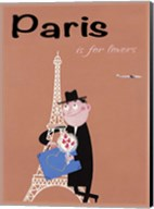 Paris is for Lovers Fine-Art Print