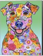 Flowers Jack Russell Fine-Art Print