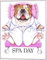 Spa Bulldog Fine-Art Print