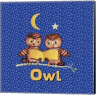 Cute Baby Owls Fine-Art Print