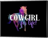 Cowgirl for Life Fine-Art Print