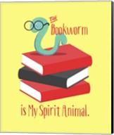 The Bookworm is My Spirit Animal III Fine-Art Print