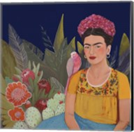Frida A Casa Azul Revisitated Fine-Art Print