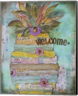 Pineapple Welcome Fine-Art Print