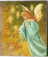 Candle Lighting Angel Fine-Art Print