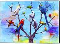 Birds Land !H Fine-Art Print
