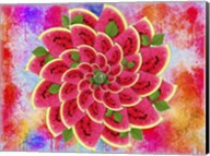 Watermelon Flower Fine-Art Print