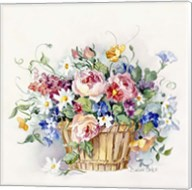Rose Basket Fine-Art Print
