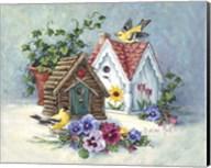 Goldfinch Birdhouses Fine-Art Print