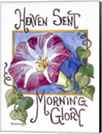 Heaven Sent Mornning Glory-Seed Packet Fine-Art Print