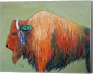 Warrior Bison Fine-Art Print