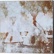 Textured Tipi's Fine-Art Print