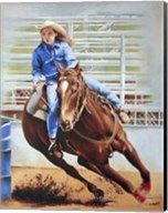 Barrel Racing Fine-Art Print