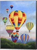 Sunrise Balloons Fine-Art Print