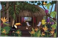 Castaway Island Home Fine-Art Print