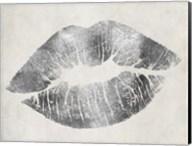 Hollywood Kiss Silver Fine-Art Print