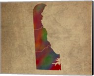 DE Colorful Counties Fine-Art Print