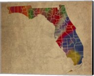 FL Colorful Counties Fine-Art Print