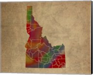 ID Colorful Counties Fine-Art Print