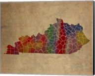 KY Colorful Counties Fine-Art Print