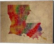 LA Colorful Counties Fine-Art Print
