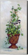 Ivy Topiary I Fine-Art Print