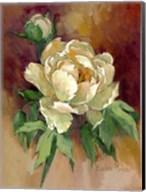 White Peonies I Fine-Art Print