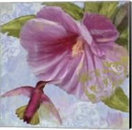 Humming Hibiscus I Fine-Art Print