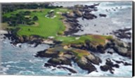 Golf Course on an Island, Pebble Beach Golf Links, California Fine-Art Print