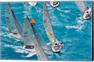 Sailboats in Acura Miami Grand Prix, Miami, Florida Fine-Art Print